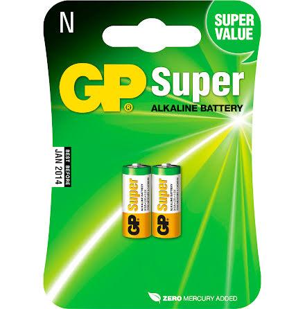 Batteri GP Alkaline N/LR1 2/fp
