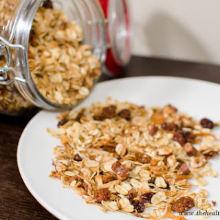Almond Coconut Granola