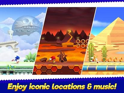 Sonic Runners Adventure - Fast Action Platformer Screenshot