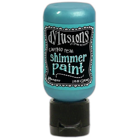 Dylusions Shimmer Paint 29ml - Calypso Teal