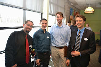 Photo: Troy Roberge, Brian Tohana, Andrew (Carleton U Student), Chris Habets