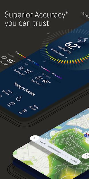 AccuWeather: Weather alerts & live forecast radar Android App Screenshot