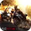 Police Moto Game 3D icon