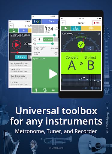 Tuner & Metronome 4.49 screenshots 1