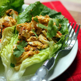 Smoky Egg Salad Lettuce Boats With Caramelized Onions