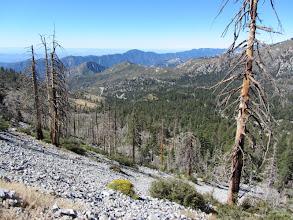 Photo: View southwest toward the heart of Crystal Lake Basin