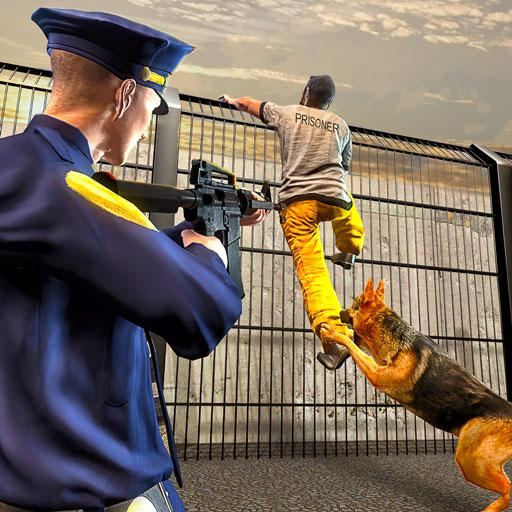 Police Dog Attack Prison Break Games (apk) free download for Android