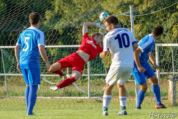 ROTHAUS BEZIRKSPOKAL TVK I – SF Eintracht Freiburg   2:3 (2:1)