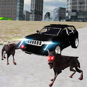 Real 4×4 Jeep Drive City Dogs for PC and MAC
