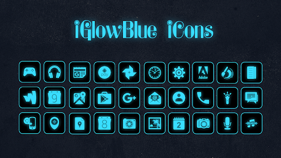 iGlowBlue Screenshot