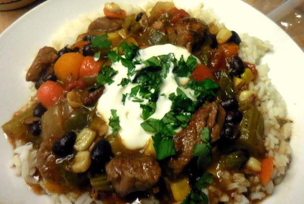 Mama Dee's Healthier Tex/mex Stew Recipe