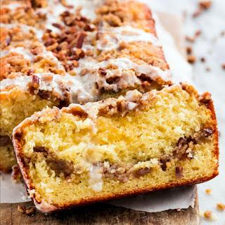 Cinnamon Pecan Coffee Cake Loaf Recipe