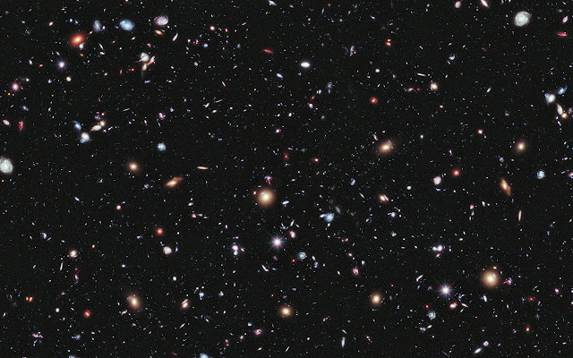 Deep Space - Black and Dark Theme on