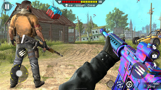 Commando Gun strike: FPS Shooting Games 2020 android2mod screenshots 5