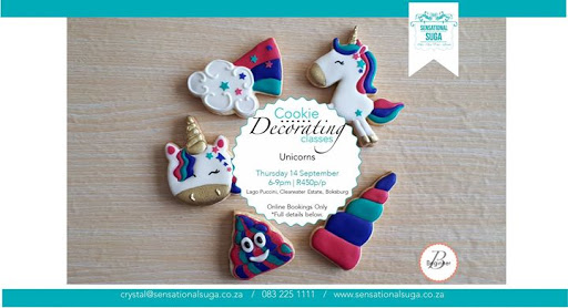 SOLD OUT Unicorns Cookie Decorating Class : Lago Puccini