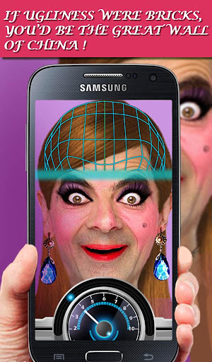 Ugly Face Scanner Prank