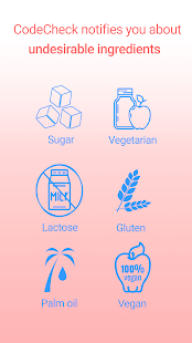 CodeCheck: Food & Cosmetics Scanner Screenshot