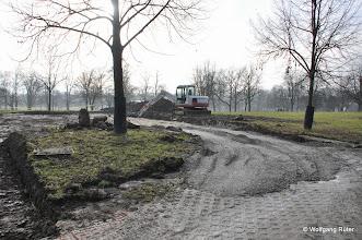 Photo: FFH Rosensteinpark auf Höhe U-Bahn-Station Rosensteinpark und Wilhelma-Gelände. Davor wird ein Baubereich für den Rosenstein-Straßen-Tunnel eingerichtet