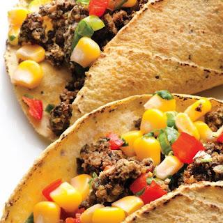 Black Bean Tacos with Corn Salsa