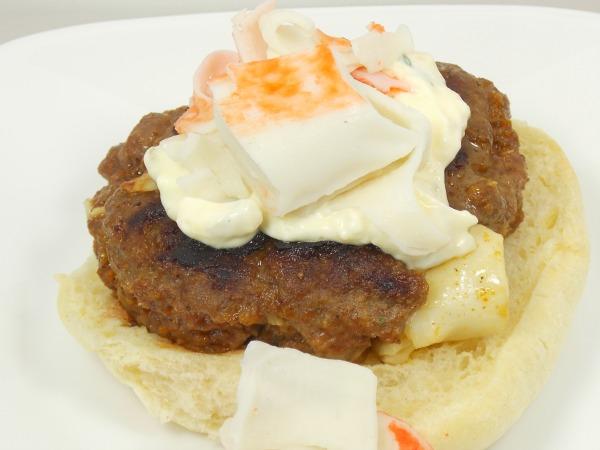 Surf N' Turf Grilled Burger Recipe