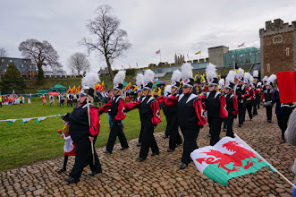 Photo: Marching