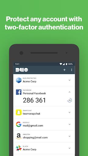 Duo Mobile 3.29.1 screenshots 1