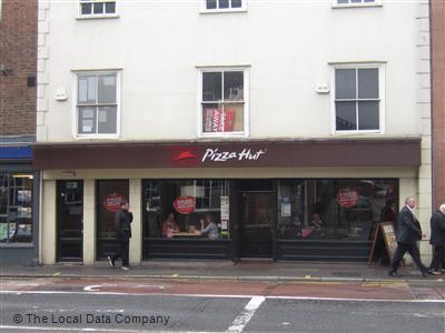 Pizza Hut On King Street Restaurant Pizzeria In