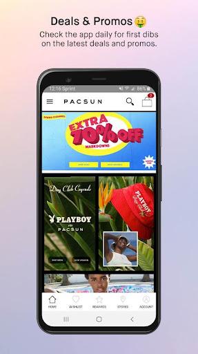 pacsun screenshot 2