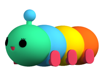 D:\Desktop\2021 WEST Kowloon\23 Sept FWU\Photo FWY\Photos of FriendsWithYou characters\Rainbow Worm.png