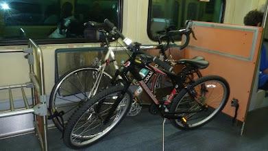 Photo: TriRail makes it easy to transport bikes