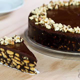 No-Bake Chocolate Biscuit Cake.