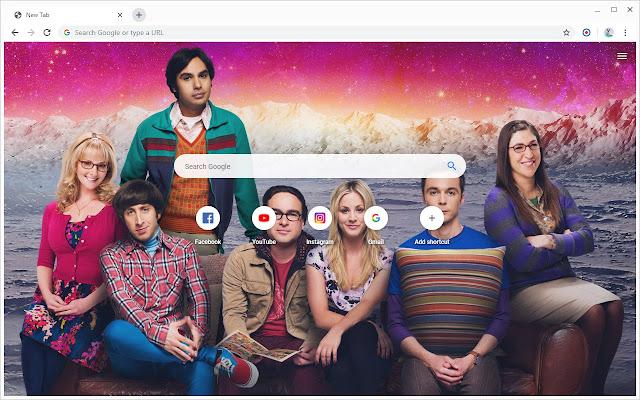New Tab - The Big Bang Theory
