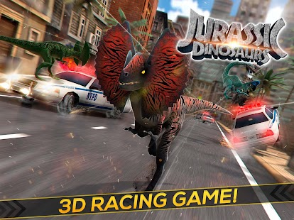 Real Jurassic Dinosaurs Race- screenshot thumbnail