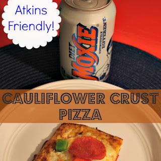 Cauliflower Crust Pizza Recipe - Atkins Friendly!