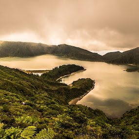 lost land by Carlos Kiroga - Landscapes Weather ( clouds, water, waterscape, cloudscape, tourism, travel, volcanic, landscape, azores, volcano, nature, weather, landscape photography, cloudy, nature photography, portugal, natural, rain )
