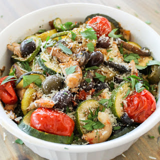 Easy Tuscan Herbed Chicken n Vegetables