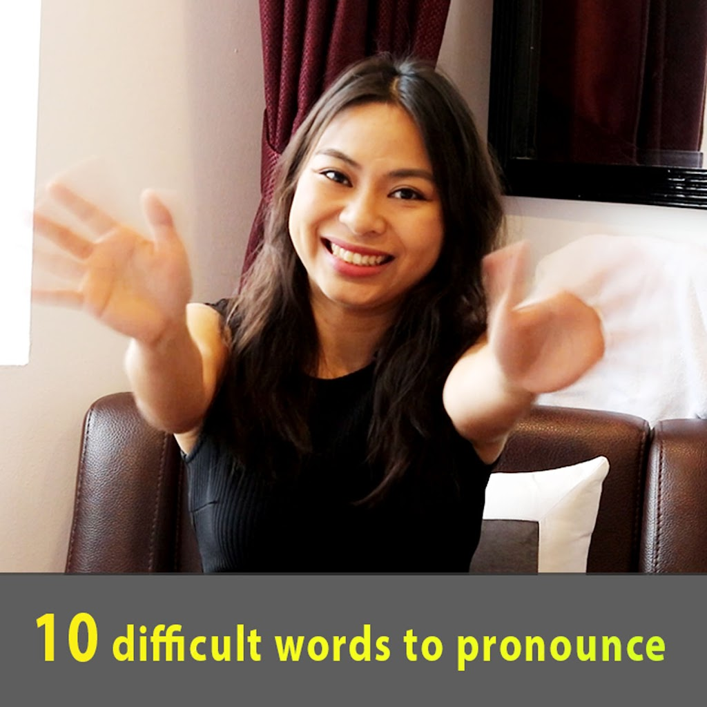 Phat Am Hay - 10 difficult word to pronounce