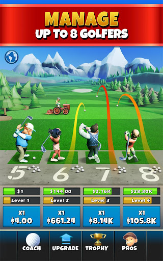 Idle Golf Tycoon  screenshots 1