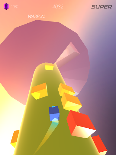 Warp and Roll - running flight action game 1.1.7 screenshots 13