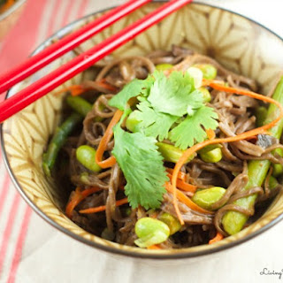 Soba Noodles with Edamame and Spring Veggies Recipe