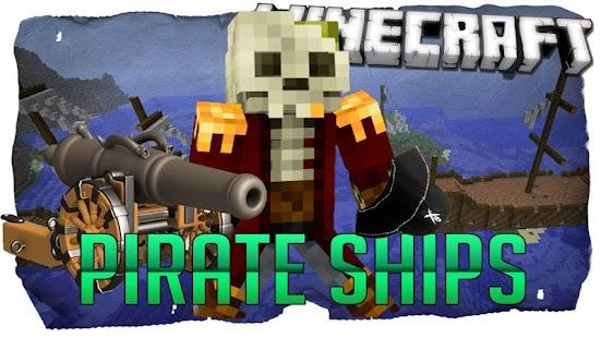 Мод на Майнкрафт Пираты