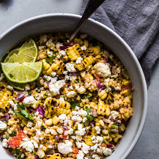 Mexican Street Corn Salad with Pearl Couscous Recipe
