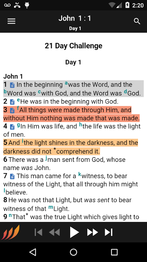 Bible - Word of Promise®- screenshot