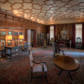 Ellwood Mansion by John Williams - Buildings & Architecture Other Interior ( ellwood mansion, dekalbe, interior detail, historical building, mansion, architecture )