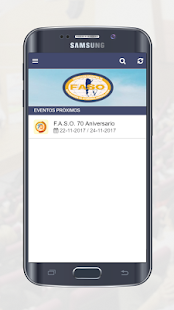 FASO Eventos - náhled