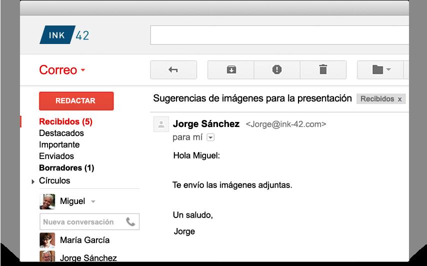 Gmail for Business: obtén correo electrónico empresarial ...