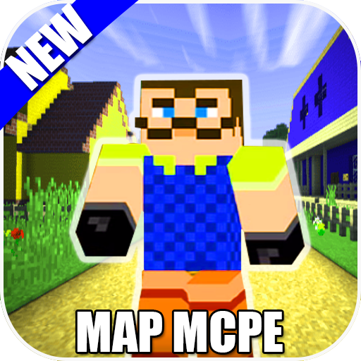 Map Of Hi Neighbor For MCPE Guides