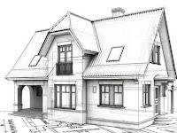 Minimalist House Drawing