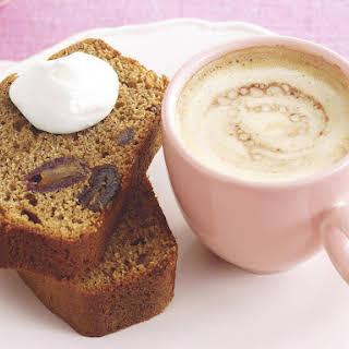 Coffee Date Loaf Cake.
