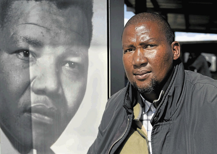 Chief Mandla Mandela at Mvezo in Mthatha in the Eastern Cape.